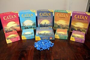 CATAN Board Games Complete 5th latest edition package, 10 Games