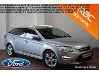 2014 Ford Mondeo 2.0TDCi (140ps) ECO Titanium X Business-F.S.H.-SAT NAV-B.TOOTH-