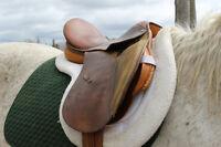 English Saddle and Girth- Good Condition