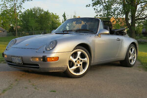 1995 Porsche 911 Carerra Convertible