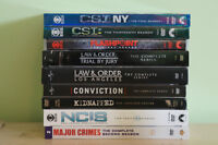 9 complete seasons of crime tv shows