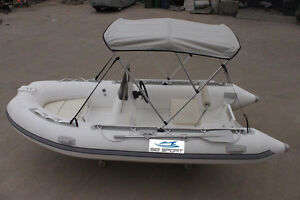 inflatable fiberglass bottom boat