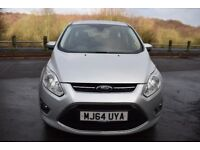 Ford C-Max Zetec 1.6 Ti-VCT 105PS ** 6 MONTH WARRANTY ** (silver) 2014