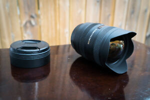 Canon Lens | Sigma 8-16mm f/4.5-5.6 DC HSM Ultra-Wide Zoom Lens