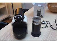 Nespresso Essenza & Aeroccino 3 coffee machine