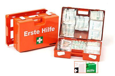 Erste Hilfe Koffer Quick DIN 13157,Verbandkoffer Schule Betrieb Kindergarten