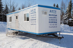 Office Trailers, Modular Buildings For Rent or Sale