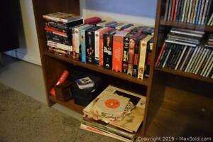 VHS, DVDs and LPs A