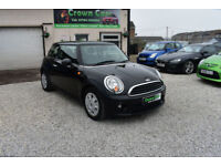 MINI 1.6 FIRST EDITION BLACK HATCHBACK 2012 MODEL +BEAUTIFUL+