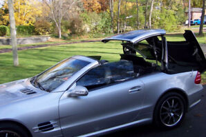 2003 MERCEDES SL500 AMG  PANORAMIC ROOF NEAR MINT MAY TRADE
