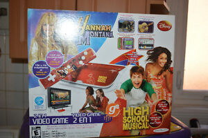 Video game: 2 in 1. Hannah Montana and Highschool Musical
