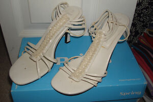 White Sandals London Ontario image 1
