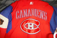 Montreal Canadiens Habs Jacket Official Licenced Size M/M
