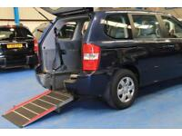 Kia Sedona wheelchair accessible vehicle mobility car 4 seats disabled wav