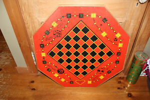 Vintage Munro Games Double Sided Game Board