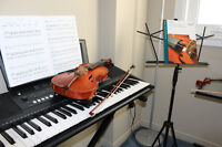 """""""HOLLY MEADOWS"""" Music Studio (Violin and Piano Lessons)"""
