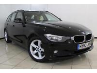 2013 63 BMW 3 SERIES 2.0 316D SE TOURING 5DR 114 BHP DIESEL