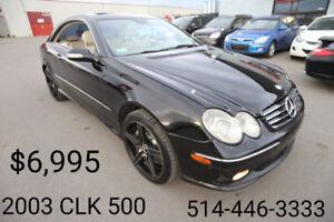 2003 Mercedes-Benz CLK-500