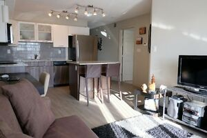 Available Immediately - Beautiful 1 Bdrm + Den all inclusive