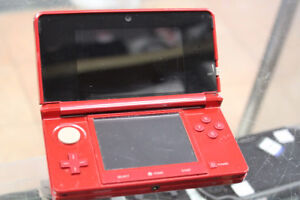 Nintendo 3DS - Flame Red - Standard Edition
