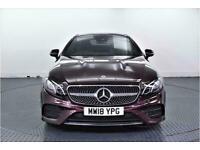 2018 Mercedes-Benz E Class 2.0 E220d AMG Line (Premium) Coupe 2dr Diesel G-Troni