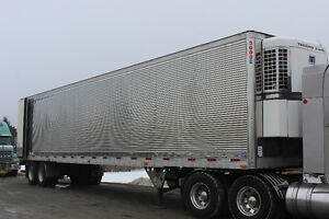 2007 Utility Reefer Trailer with 1990 Thermo King reefer