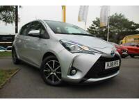 2018 Toyota Yaris TOYOTA YARIS 1.5 Hybrid Icon Tech 5dr CVT Hatchback Petrol/Ele