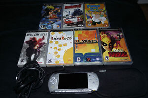Modded Hacked PSP CFW custom firmware + games on stick + games