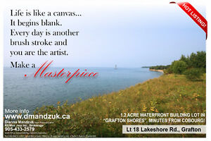 LAKE ONTARIO WATERFRONT BUILDING LOT!
