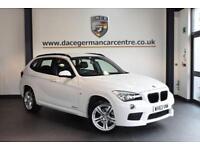 2013 63 BMW X1 2.0 SDRIVE20D M SPORT 5DR AUTO 181 BHP DIESEL