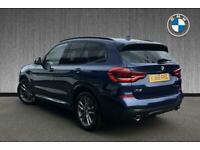 2019 BMW X3 X3 xDrive20d M Sport Auto Estate Diesel Automatic