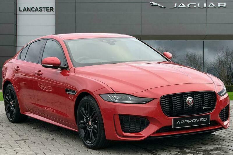 2019 Jaguar XE R-DYNAMIC SE Diesel red Automatic | in Reading, Berkshire | Gumtree