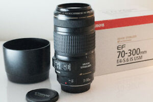 Canon 70-300mm F4-5.6 IS USM