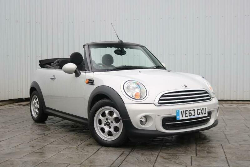 20 Images 2013 63 Mini Cooper 13 Cabriolet 3dr White Silver