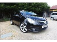 VAUXHALL CORSA SRI A-C 1.7 CDTI XP KIT, Black, Manual, Diesel, 2008