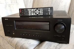 Cinéma Maison Denon AVR-1712 Dolby 7.1 avec 6 entrées HDMI