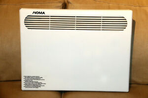 NOMA QCC 1000 Convection Heater WALL MOUNT 240v 1000W EXC!