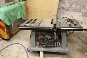band de scie  table saw  delta portatif avec bonne lame