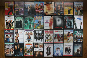 600 DVD's LOT for SALE USED - *** $450 firm quick sale ***