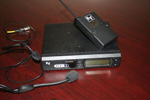 Electrovoice RE2 wireless headset mic system