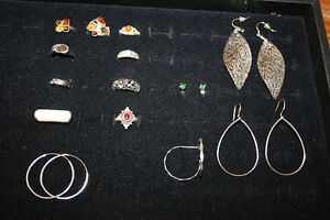 Sterling Jewellery Pieces- See photos