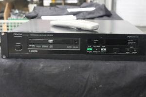 DENON DN-V210 DVD MP3 PLAYER W/REMOTE