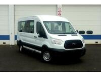 Ford Transit 410 L3 Base 15 Seater Minibus 125ps - Frozen White