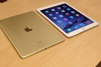 IPad Air 2 128 gb gold color  Keyboard case for free ( 125 $ )