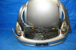 JDM Infiniti G35 Coupe Used OEM Front End Conversion 2003-2007