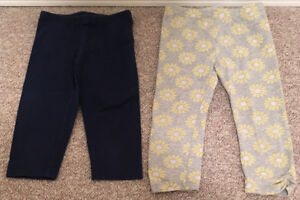 Toddler Capris Leggings Old Navy sz XS(5) & 5T