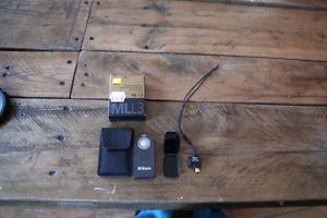 Nikon wu-1a  wifi and nikon ml-l3 remote
