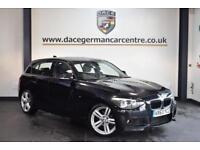 2013 63 BMW 1 SERIES 2.0 118D M SPORT 5DR 141 BHP DIESEL