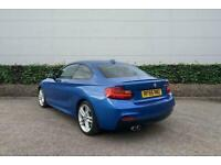 2016 BMW 2 Series 220d M Sport 2dr [Nav] Coupe Manual Coupe Diesel Manual