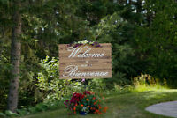 Welcome Sign - Wedding